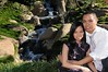 Jay & Mary : My beautiful cousin and Jay at the Japanese Gardens in Van Nuys