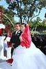 Juhn&Liceta Wedding : Garden Wedding Ceremony held at the Hilton Universal